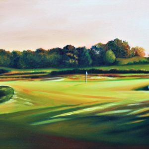 Hollinwell Golf Course (canvas print)