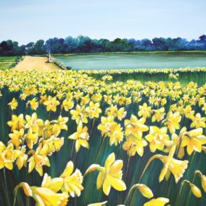 Host of Golden Daffodils...(fine art print)