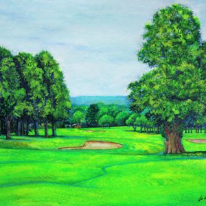 The 12th at Trentham Park Golf Club (commission)