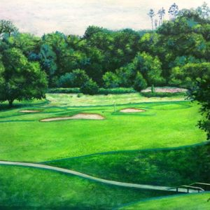 The 15th at Trentham Park Golf Club (commission)