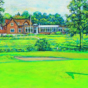 The Clubhouse at Trentham Park Golf Club (canvas print)