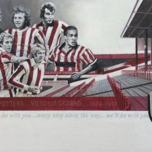Legends of the Victoria Ground...(fine art print)