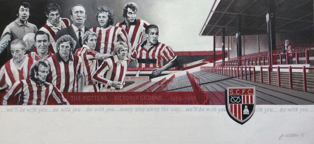 Legends of the Victoria Ground..